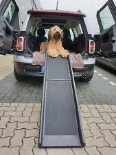 Auto Hunderampe klappbar Kunststoff Anti-Rutsch 155 x 40cm max 90 kg 400-280 Car