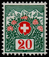 Switzerland Scott J40 (1910) Mint LH VF, CV $17.50 C