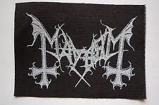 Mayhem Cloth Patch (CP189) Black Metal Rock Immortal Dissection Opeth