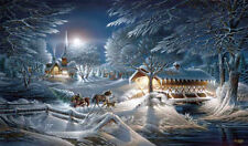 """TERRY REDLIN  """"Evening Frost""""  24"""" X 14""""  Number Print"""