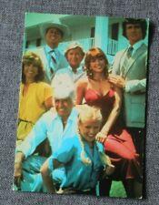 La Famille Ewing dans Dallas, carte postale