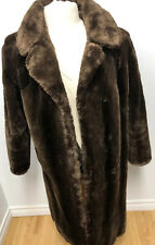 GENUINE SHEARED BEAVER FUR COAT FOR MEN Without Lining Sz.L (42) n.237