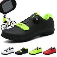 Professional Bicycle Sneakers Men Road Cycling Shoes Athletic Racing Bike Shoes