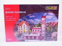 66072 Faller Ho 130159 Moderne Caserne de Pompiers Kit Neuf Emballage D'Origine