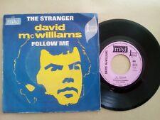 45T vintage The stranger - David mc william - follow me