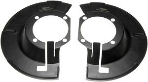 FITS 2003-2008 DODGE RAM 3500 2500 4WD PAIR OF FRONT BRAKE DUST SHIELDS