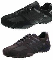 GEOX U Guildford C-SMO.LEA Herren Business Schuhe Gr:42 neu in Karton