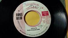 "Pirate -The Ethiopians+Tommy McCook Depth Charge /  Reggae 45"" Duke Reid  Label"
