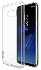 Samsung Galaxy S8 Plus Clear Hybrid Shockproof Bumper Silicone Case Hard Cover