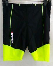 Louis Garneau Padded Cycling Shorts Womens XL neo green black EUC