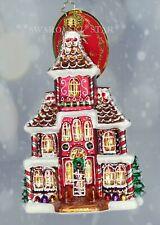 Christopher Radko *New* Grandeur in Ginger House 1020105 Christmas Ornament