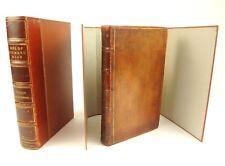 1762 1st edition Life of Richard Nash of Bath, by Oliver Goldsmith. Slip case.