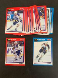 1991/92 Score Canadian Bilingual Buffalo Sabres Team Set 28 Cards