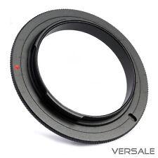 58mm Makro Umkehrring für Canon EOS Retroadapter Kamera Objektiv Adapter Macro