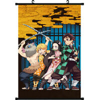 Demon Slayer: Kimetsu no Yaiba Birthday Gift Wall Home Decor Scroll Poster Gift
