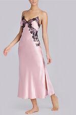 NWT Josie Natori Pink Silk LOLITA Night Gown, sz M * $495 *