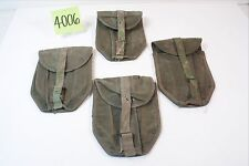 WWII Folding Shovel Covers Field Repaired for USMC