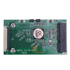 1pc Mini SATA mSATA PCI-E IPOD SSD to 40pin 1.8 Inch ZIF CE Converter Card JF#E