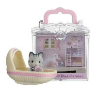Epoch Sylvanian Families Doll Accessory Baby House Cradle B-37 From Japan