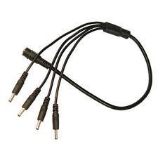 HQRP 1.35mm / 3.5mm CC Cable divisor para Foscam FI8918W / FI8905W / FI8608W