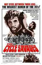 Cycle Savages Poster 01 A4 10x8 Photo Print