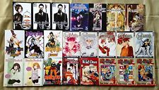 24 Assorted Manga * $3 each, your choice * Black Butler, Fruits Basket, More* PB