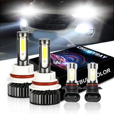 9007+9005 Led Headlight Bulb+Foglight for Ford F-150 1999-2003 Ranger 2001-2011(Fits: Neon)