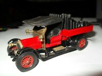 MATCHBOX MODELS OF YESTERYEAR LOOSE Y-13 1918 R/R CROSSLEY 1973 LESNEY