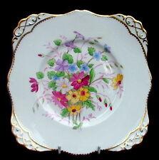 Vintage Toscano Flores De Verano C8354 Pastel Gateau o sándwich placa 23cm-en en muy buena condición