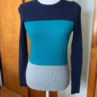 Women's IZOD cable knit sweater size XS