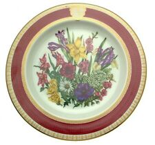 Flower Plate Princess Juliana Birthday Plate Floral Plates