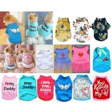 Summer Lovely Pet Clothes Puppy Small Dog Cat Dress Vest T-Shirt Apparel Clothes