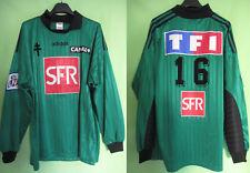Maillot Fc Metz porté Coupe de France Gardien Adidas Vert #16 Canal + SFR - XL