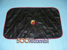 FIAT 500 F/L/R PADIGLIONE INTERNO NERO BORDO ROSSO+ LOGO ABARTH SOTTOTETTO CIELO