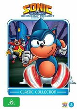 Sonic The Hedgehog - The Doomsday Project (DVD, 2012, 2-Disc Set) New  Region 4