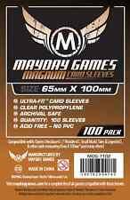 Mayday Games Standard 7 Wonders Brown Backed Board Game Card Sleeves