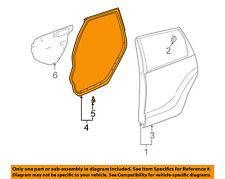67871-01050 Toyota Weatherstrip, rear door, rh 6787101050