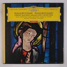 HALLELLUJAH: Great Sacred Arias, Choruses ARNDT DGG Red Stereo 136 366 LP NM