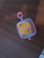 Vintage Little Fisher Price charm necklace clip smugglar Smooshees Smooshies p