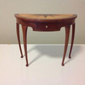 1/6  Scale Antique Dolls House Furniture Solid Timber Multi Hardwood Veneer !!!
