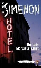 The Late Monsieur Gallet [Inspector Maigret]