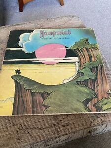 Hawkwind – Warrior On The Edge Of Time Shield cover United Artists – UAG 29766