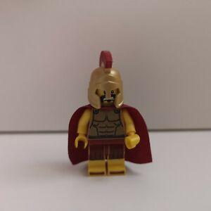Lego - Series 2 CMF - Spartan Warrior - Genuine Minifigure & Plate