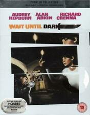 WAIT UNTIL DARK (1967) - Blu Ray - Includes Artcards & Poster - Audrie Hepburn -
