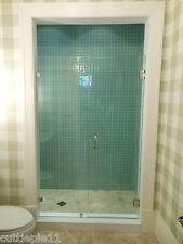 Frameless Shower Door 3/8 Glass,/Hard Combo up to 48""