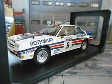 OPEL Manta B 400 Rallye Gr.B RAC GB 1983 #8 McRae Rothmans IXO NEU 1:18