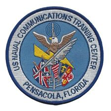 USN Naval Communication Training Center Pensacola, Florida MILITARY  patch