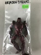 Crimson Dynamo Loose Action Figure Marvel Comics Iron Man 2 Hasbro 2010 5""