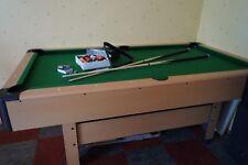 Billard Tisch 6 Fuß Pool Billardtisch mit Zubehör  NEUWERTIG