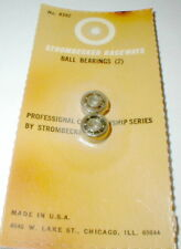 Strombecker Professional Ball Bearings (2) Vintage Original 1960's #8392 NOS